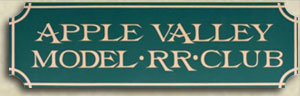 Apple Valley Model Railroad Club logo