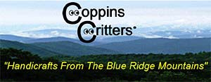 Coppins Critters - critters from railroad spikes
